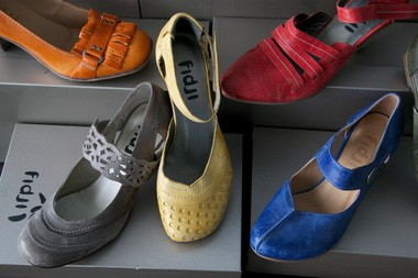 Sinclair imports and distributes a wide selection of shoes, many with a European flair and sensibility.