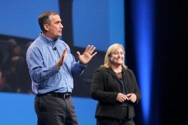 New Intel CEO Brian Krzanich and the company's new president, Renee James, immediately put their own stamp on the company. They shelved a big online TV initiative and opened the factory doors to rivals' chips.