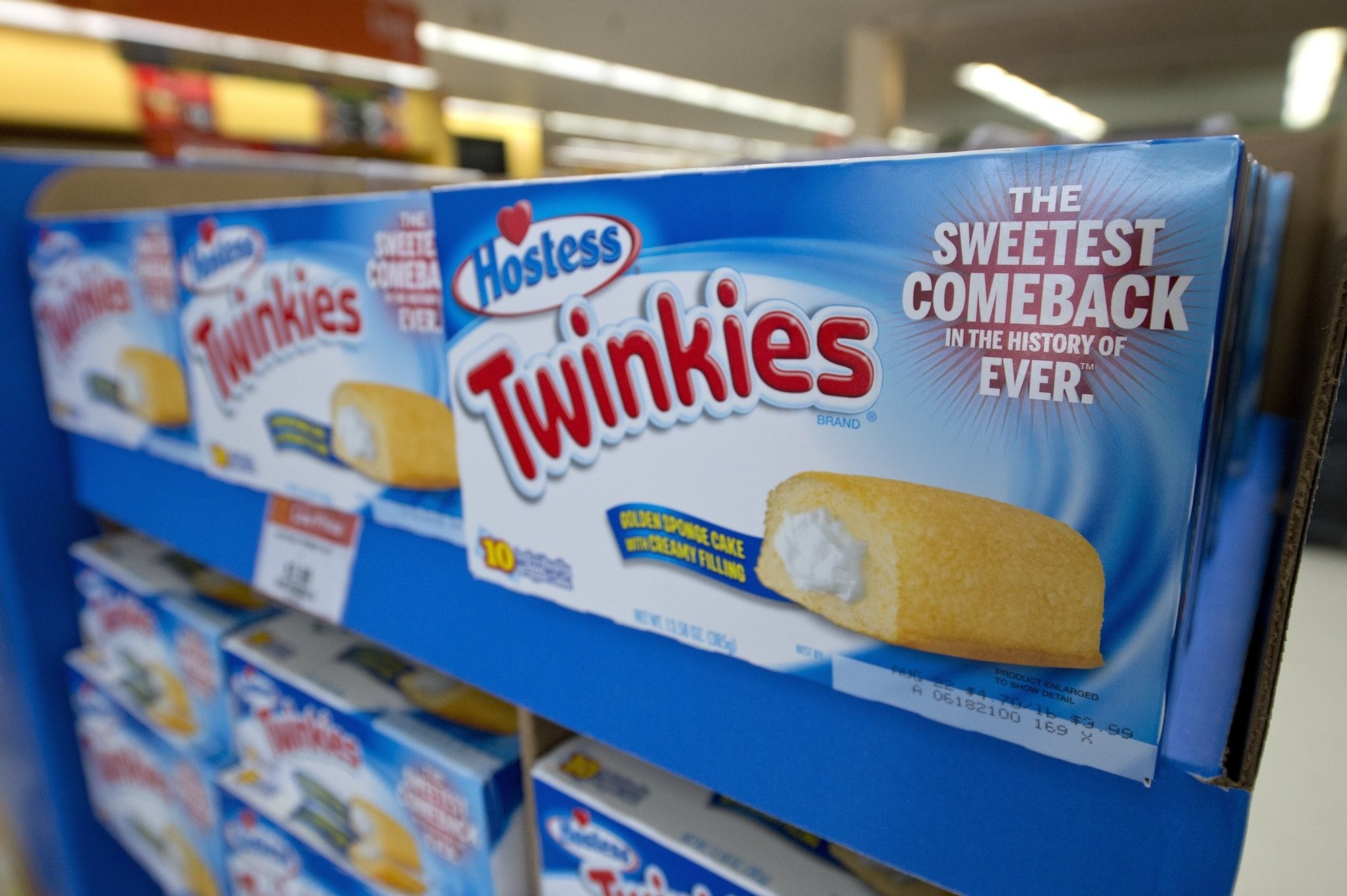 Twinkies riding high on America's healthy-eating trend