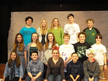 "The Lakeridge Junior High Dramatic Society presents ""Snow Angel"" Feb. 28, March 1, and March 7 and 8 in the school cafeteria, 4700 Jean Road in Lake Oswego."