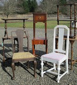 Learn how to give new life to a tired piece of furniture in a workshop May 24 at the Wade Creek House.