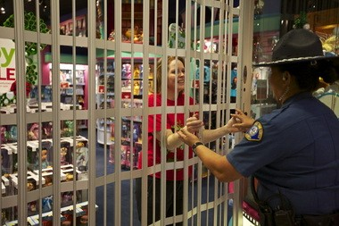 When shooting erupted at the Clackamas Town Center, Becky Hale pulled shoppers inside the Disney store and locked the gate. When the store reopened a few days later, she was there to greet mall security guard Daisy Fuimaono.