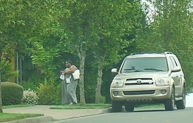 Prosecutors entered as evidence a photo of Lakisha Emma Louise Muhammad, 36, walking unassisted.