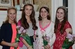 West Linn Old Time Fair Court princesses are Natalie Bruun, Zoe Craig, Beth Hoots and Celia Lawrence.