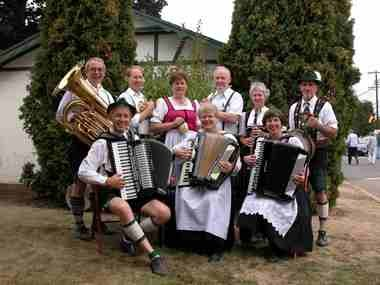 The Alpine Echos Band will perform from 6:30-8:30 p.m. Sept. 27 and 5:30-7:30 p.m. Sept. 28 in downtown West Linn.