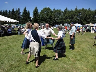 Pick up some Scottish country dancing tips in a free introductory class offered on Mondays at Waluga Lodge.