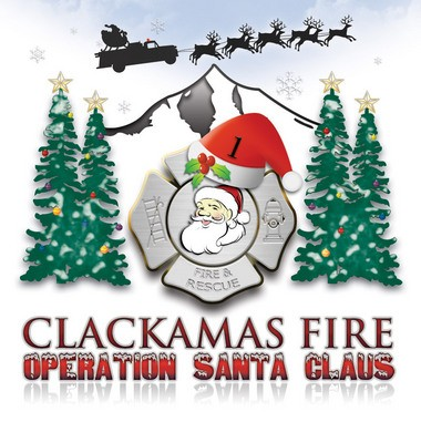 The Operation Santa Claus logo