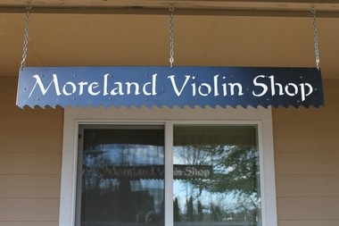 Mark Moreland's shop is in Battle Ground, where he enjoys the mountain views and rural setting.