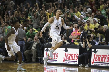 Oregon's Dillon Brooks buzzer-beating three-pointer dealt then-No. 2 UCLA its first loss of the season.