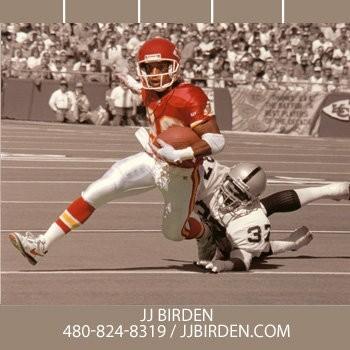 JJ Birden pictured playing for Kansas City.