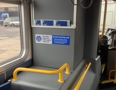 TriMet says the audio-recording signs are in plain view for riders.