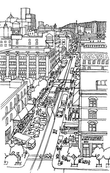 The Portland Streetcar made one of its first appearances in city plans in 1988 as a vintage trolley that would connect microbreweries, art galleries and retailers in what would later become the Pearl District.