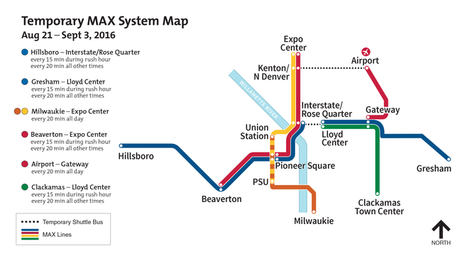 Next major MAX repair project, and associated delays, set for August