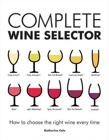 "Katherine Cole's ""Complete Wine Selector: How to Choose the Right Wine Every Time."""