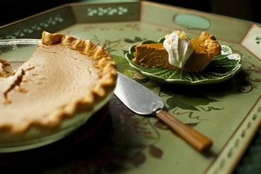 Classic Pumpkin Pie.