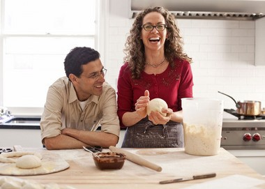 "Jeff Hertzberg and Zoe Francois, authors of the new cookbook ""Gluten-Free Artisan Bread in Five Minutes A Day."""