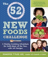 """""""The 52 New Foods Challenge"""" by Jennifer Tyler Lee."""