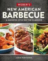 """Weber's New American Barbecue"" by Jamie Purviance."