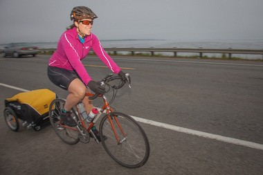 """Jessica Lawrence --- """"Jess"""" to her friends -- got an inital leg between Astoria and Portland completed in mid-May."""