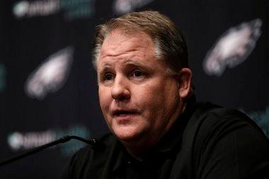 Philadelphia Eagles new coach Chip Kelly.