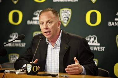 Oregon athletic director Rob Mullens promises a thorough search to replace Chip Kelly.