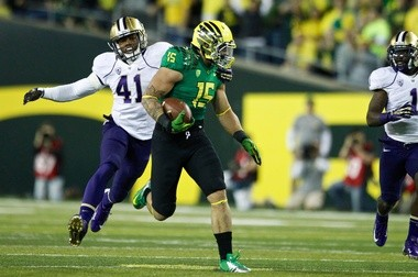 Colt Lyerla had seven touchdowns last season - six receiving and one rushing - but he informed coach Mark Helfrich on Sunday that he was leaving the team.