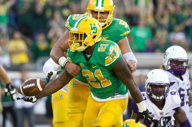 newest collection 766f3 c8b20 25 times Oregon Ducks uniforms have turned heads ...