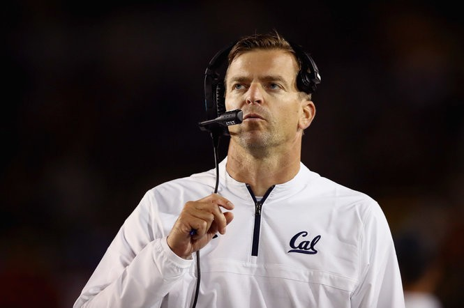 Justin Wilcox is 3-1 in his first season as coach of the California Golden Bears. A UO grad, Wilcox's staff includes several other connections to Oregon, including offensive line coach Steve Greatwood and defensive line coach Jerry Azzinaro, both former Ducks assistants.
