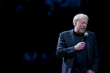 Nike founder Phil Knight spoke about the $227 million Matthew Knight Arena, the UO basketball facility named for his son, before the inaugural game there in January 2011.