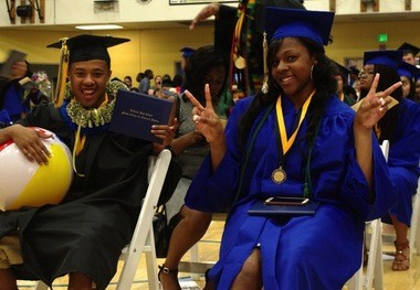 Jefferson High was long a dropout factory, but no more. In 2015, more than 80 percent of the students graduated on time, most with college credits under their belts, including 81 percent of black students. That was the second best black graduation rate in Oregon, behind only Grant High School.