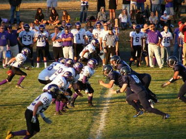 Elmira High squared off against Pleasant Hill in football in 2011. Elmira High is a point of pride for the small town west of Eugene. From sports to scholarship, supporters cheer on the school, which has become an academic powerhouse.