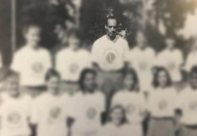 Yearbook image of Mitch Whitehurst, who worked with students in Portland Public Schools for 32 years.