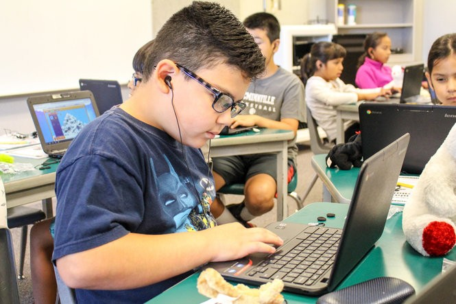 Columbus Elementary student Ishmael Ramirez took part in McMinnville's free summer school open to all rising third-graders. Five weeks of extra reading instruction and enrichment during the months leading up to third grade pay off with higher reading and math proficiency, district leaders say.