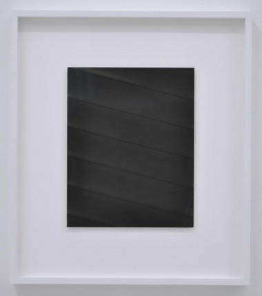 """Evan La Londe, """"Untitled (Blinds),"""" 2013, silver gelatin print, 10"""" x 8"""". Photo courtesy of PDX Contemporary Art."""