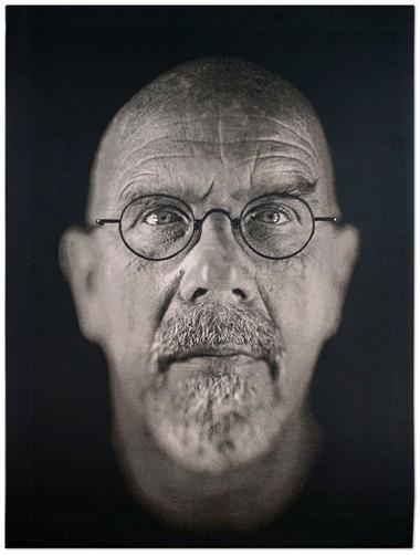 "Chuck Close, ""Self Portrait,"" 2009"