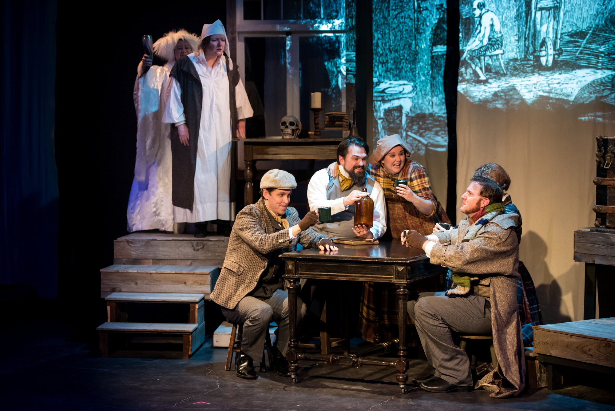 Overly Christmas.Charles Dickens Christmas Carol Gets A Solid But Overly