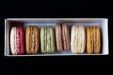 Macarons from Farina Bakery.