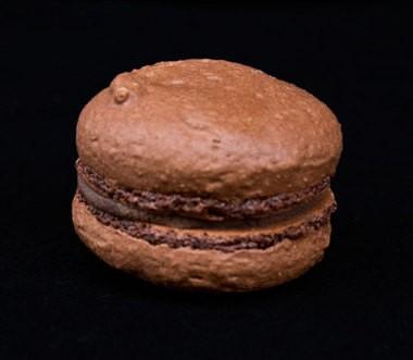 Chocolate macaron from Papa Haydn.