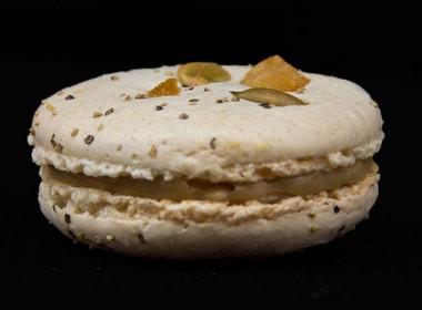Foie gras macaron from Pix Patisserie.