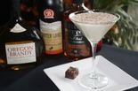 Bistro Marquee's take on eggnog has a chocolate-hazelnut accent.