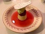 Maurice's rhubarb vacherin.