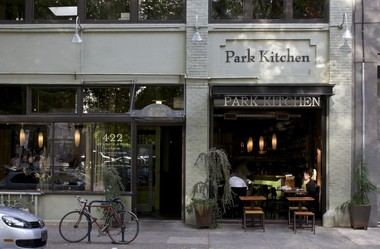 Park Kitchen, one of our favorite restaurants in downtown Portland.