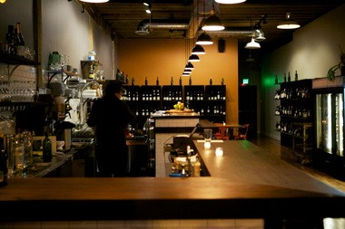 The bar is featured prominently at Oso Market + Bar.