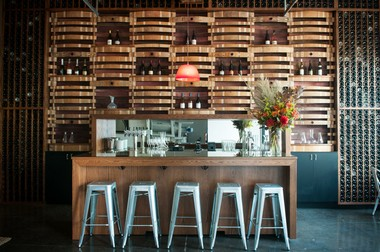 Inside the tasting room at Southeast Wine Collective in Southeast Portland.
