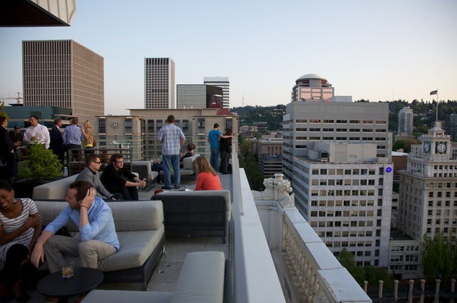 Portland's 10 best rooftop bars, ranked by their views - oregonlive com