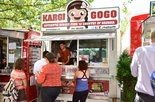 Kargi Gogo's old downtown Portland cart, which closed in 2015.