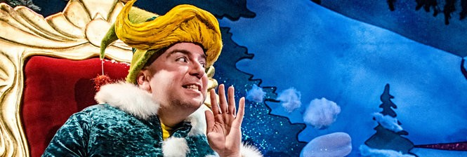"""The Santaland Diaries"" at Portland Center Stage."