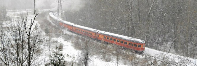 The Holiday Express Train.
