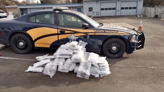 A Minnesota classical musician is accused of possessing this haul of marijuana in Oregon.