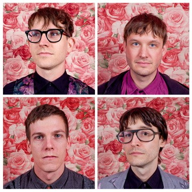 STRFKR is Josh Hodges, Patrick Morris, Shawn Glassford and Keil Corcoran.
